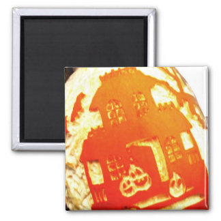 House on the Pumpkin Magnet