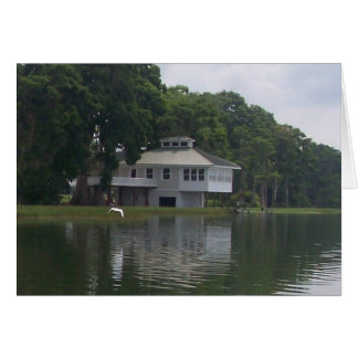 House on the River Notecard