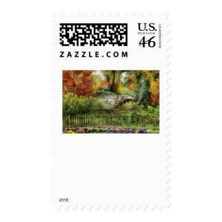 House - On the way to grandma s House Postage Stamps
