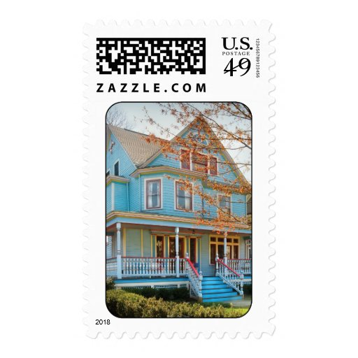 House - Painted Lady Stamps