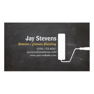 House Painter Black Painting Business Business Card