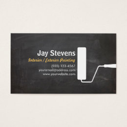 Painter Business Cards Templates Zazzle - Painter business card template