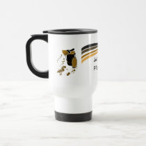 House Painter Brush Strokes Travel Mug