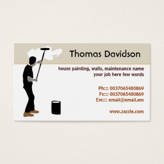 Home painting business cards home painting house painter business cards templates zazzle colourmoves
