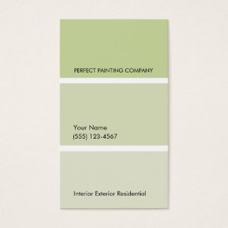 House Painter Business Card