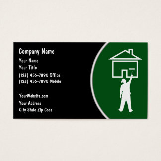 House Painter Business Cards