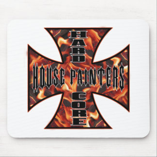 House Painter Hard Core Mouse Pad