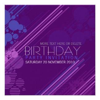 House Party Birthday Invitation