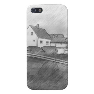 House photo drawing cover for iPhone 5