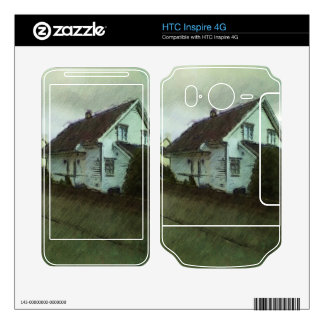 House photo drawing skins for HTC inspire 4G