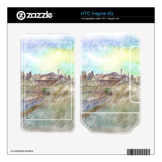 House photo drawing skin for HTC inspire 4G
