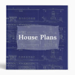 House Plans Blueprint Binder