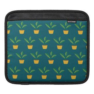 house plant blue green iPad sleeves