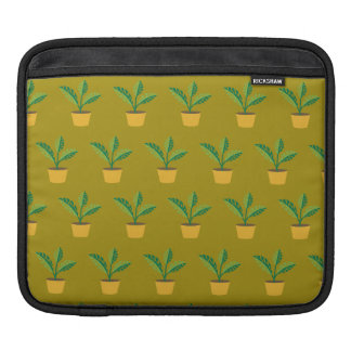 house plant spinach green sleeve for iPads