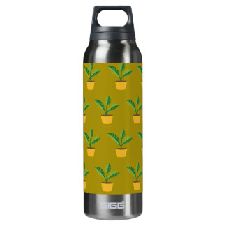 house plant spinach green 16 oz insulated SIGG thermos water bottle