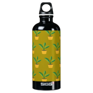 house plant spinach green SIGG traveler 0.6L water bottle