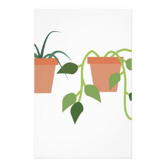 House Plants Stationery