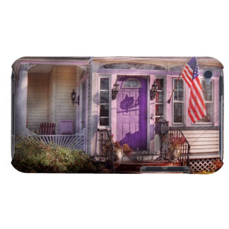 House - Porch - Cranford, NJ - Lovely in Lavender Barely There iPod Cases