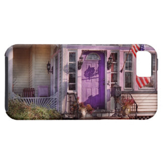 House - Porch - Cranford, NJ - Lovely in Lavender iPhone 5 Cases