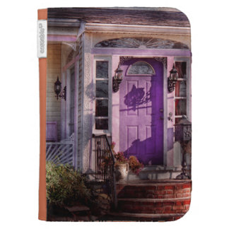 House - Porch - Cranford, NJ - Lovely in Lavender Kindle Covers