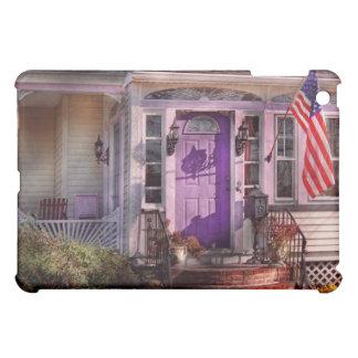 House - Porch - Cranford, NJ - Lovely in Lavender iPad Mini Cover