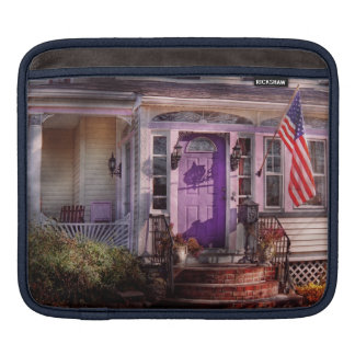 House - Porch - Cranford, NJ - Lovely in Lavender Sleeve For iPads