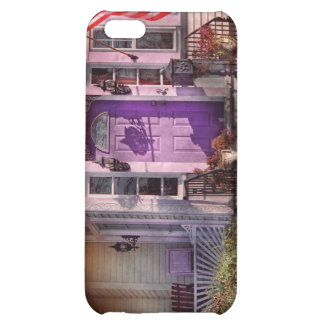 House - Porch - Cranford, NJ - Lovely in Lavender iPhone 5C Covers