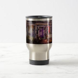House - Porch - Cranford, NJ - Lovely in Lavender Coffee Mug