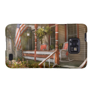 House - Porch - Traditional American Samsung Galaxy SII Case