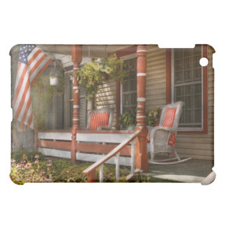 House - Porch - Traditional American Cover For The iPad Mini