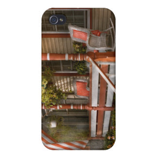 House - Porch - Traditional American Covers For iPhone 4