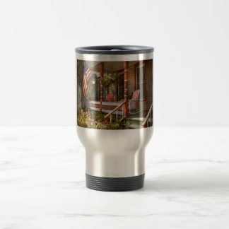 House - Porch - Traditional American Mugs