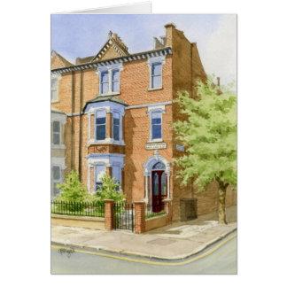 House portrait Clapham Common Card