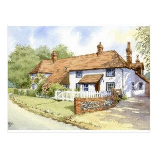 House portrait Oak Ryse House Postcard