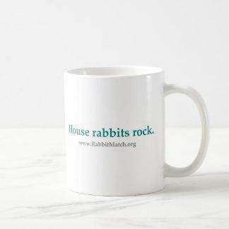 House rabbits rock. Mug.