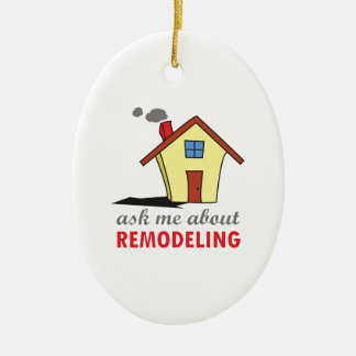 HOUSE REMODELING CERAMIC ORNAMENT