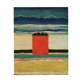 House roja, 1932 cuadros de madera