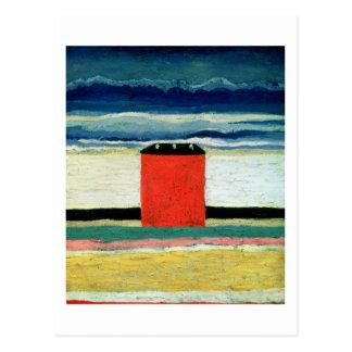 House roja, 1932 postales
