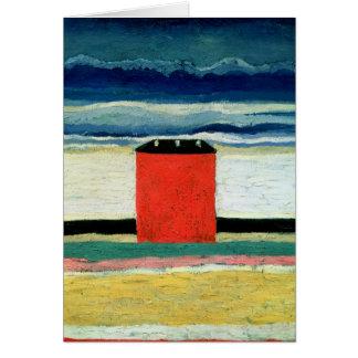 House roja, 1932 tarjetón