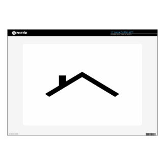 """house roof skin for 15"""" laptop"""