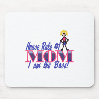 House Rule #1 Mouse Pad