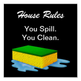 House Rules! - SRF Poster