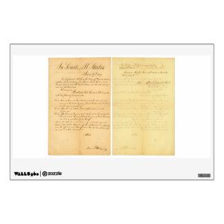 House & Senate Declaration War of 1812 HR 12A-B3 Wall Graphics
