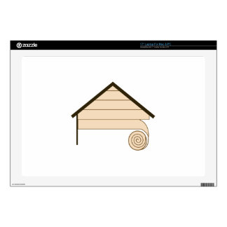 """HOUSE SIDING DECALS FOR 17"""" LAPTOPS"""