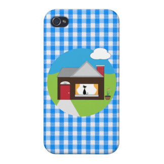 House Sitting Case For iPhone 4