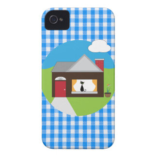 House Sitting iPhone 4 Cover