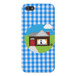 House Sitting iPhone SE/5/5s Case