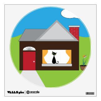 House Sitting Wall Sticker
