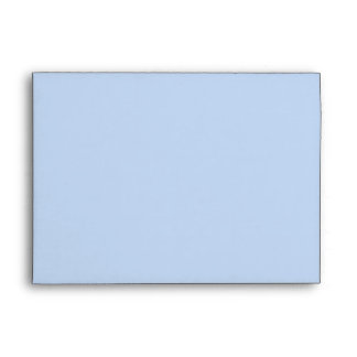 House Sketch. Black and Blue. Envelope