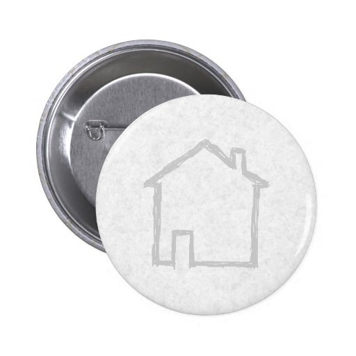 House Sketch. Gray. Buttons
